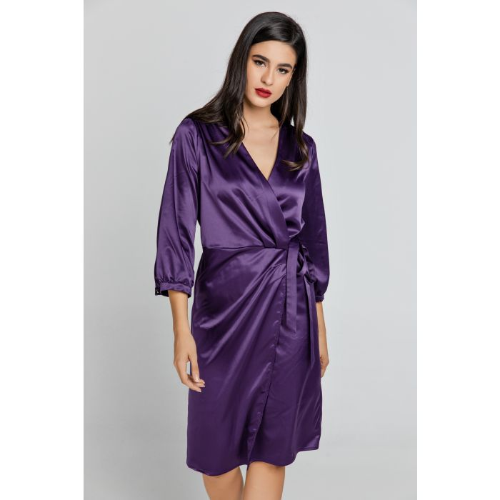 Image for Mauve Wrap Dress