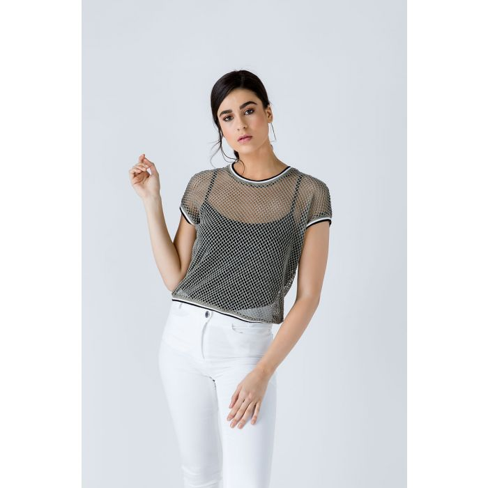 Image for Khaki Layer Top