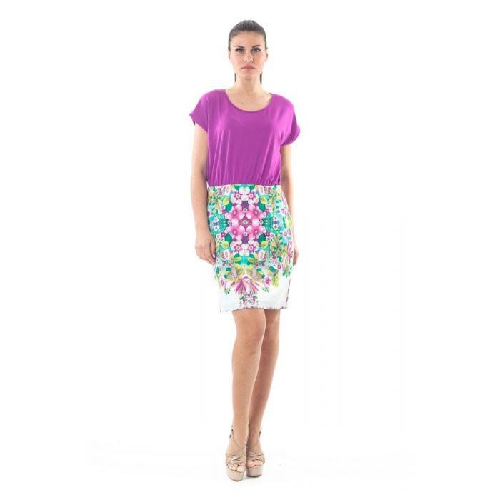 Image for Floral Print Detail Dress
