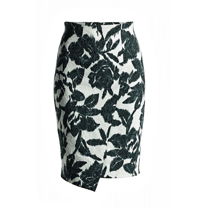 Image for Floral Pencil Skirt