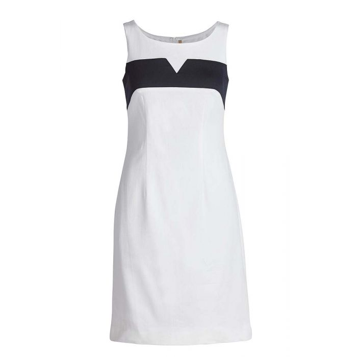Image for Sleeveless Empire Line Stretch Dress