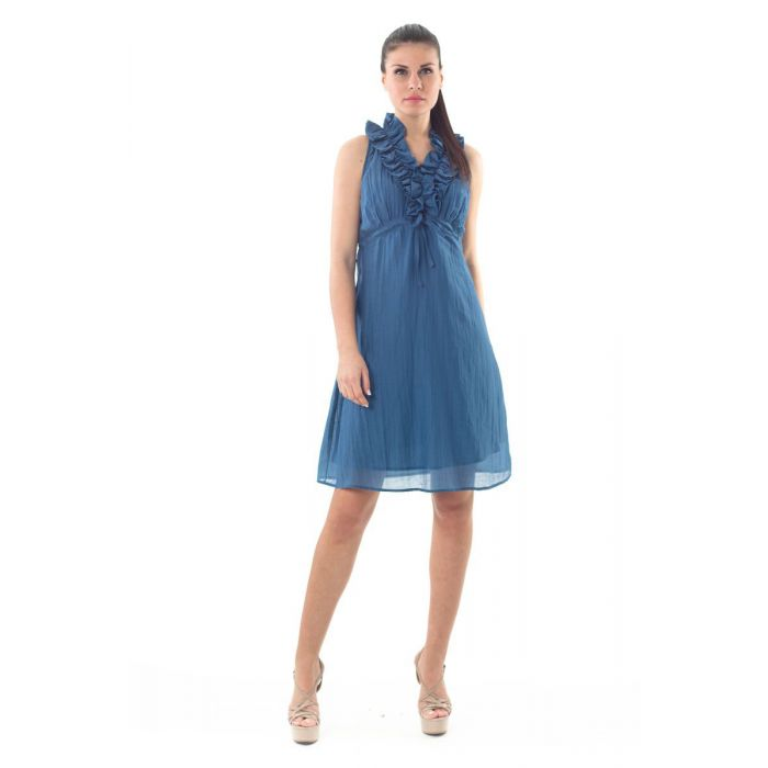 Image for Sleeveless Ruffle Detail dress