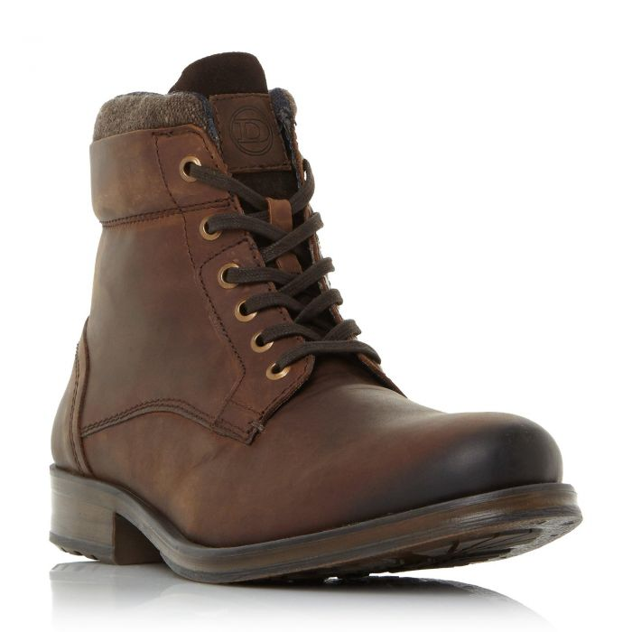 Image for Dune Mens CAPER  Lace-Up Worker Boot
