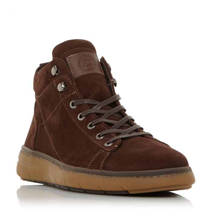 Image for Dune Mens CASHEW Wedge Hiker Boot