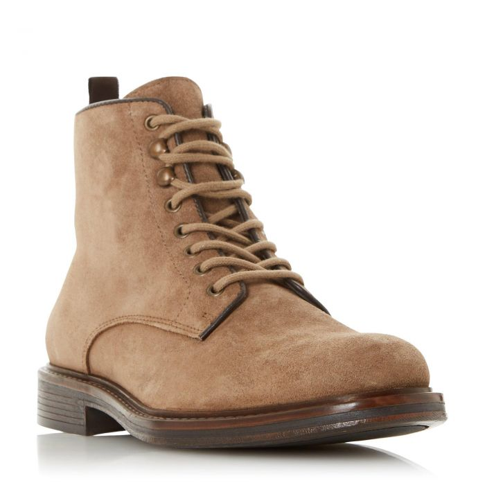 Image for Dune Mens COCOA Lace Up Low Block Heel Boot