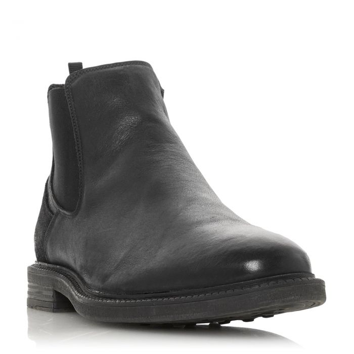 Image for Dune Mens COURAGEOUS Zip Chelsea Boot