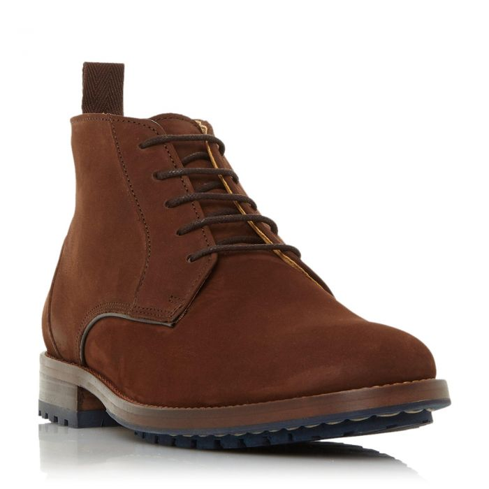 Image for Dune Mens CREEK Contrast Cleated Sole Chukka Boot