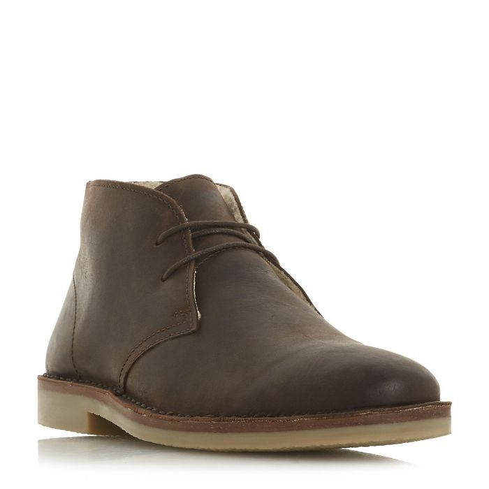 Image for Dune Mens CURRY Lace Up Desert Boot