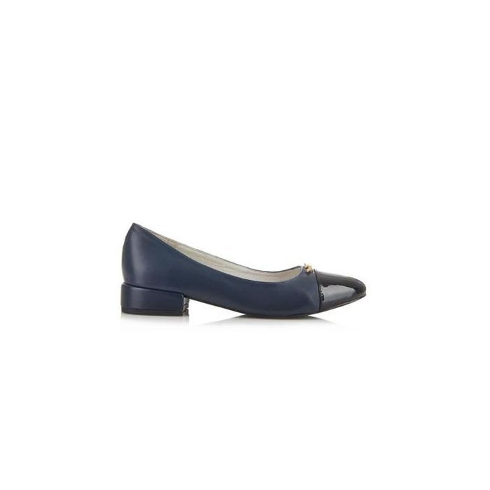 Image for Cambridge navy cap-toe shoes
