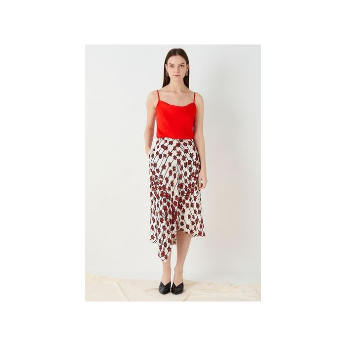 Image for Casey Printed Bias Skirt - Multi