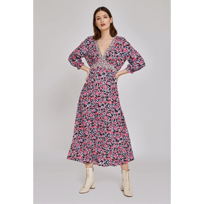 Image for Maeve Floral Print Dress