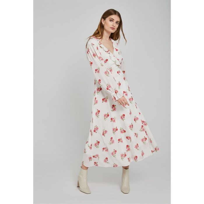 Image for Elize Palm Spring Print Cotton Dress