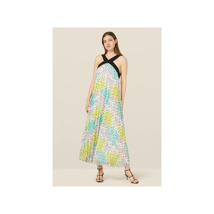 Image for Dakota Multi-Coloured Pleated Dress - Multi