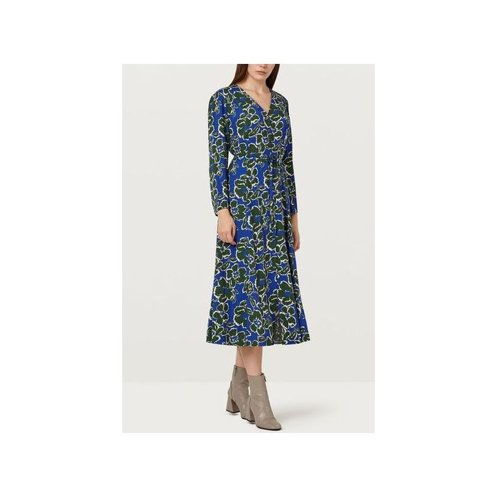 Image for Daniella V-Neck Floral Dress - Multi