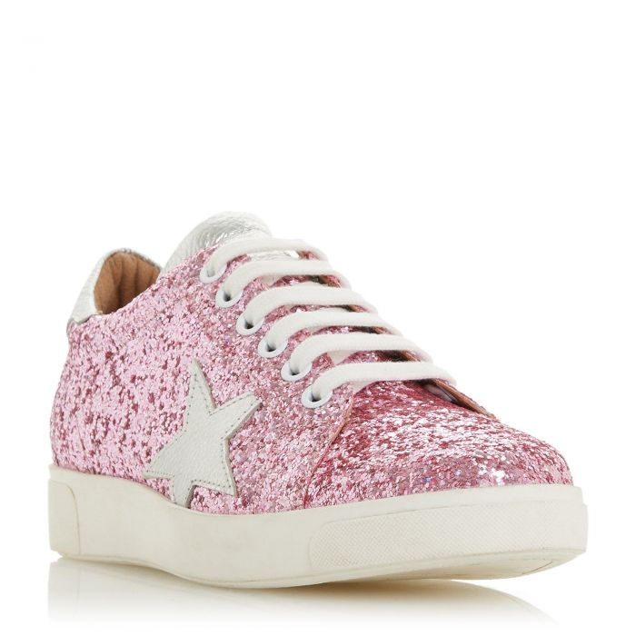 Image for Dune Ladies EDRIS S Star Lace Up Trainer