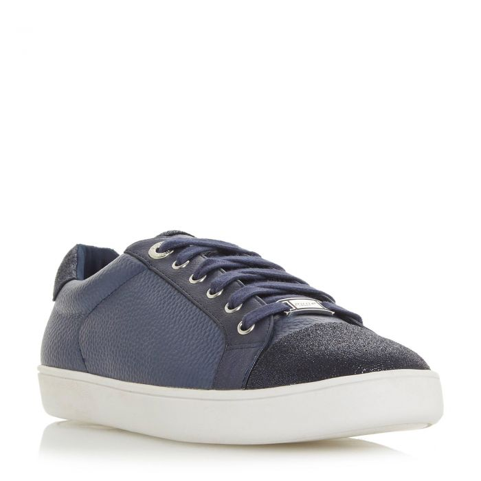 Image for Dune Ladies ENZOW Contrast Panel Lace Up Trainer