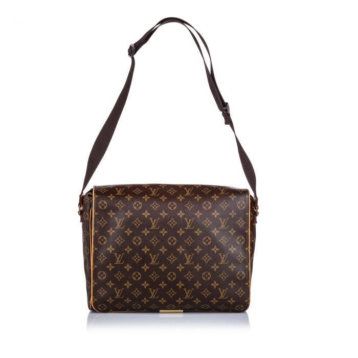 Image for Vintage Louis Vuitton Monogram Abbesses Brown