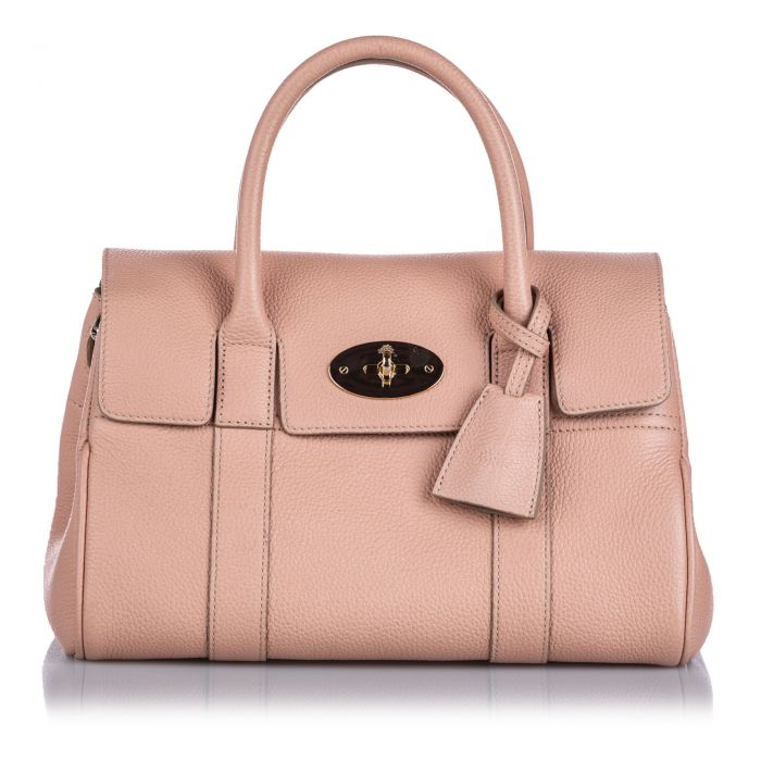 Image for Vintage Mulberry Small New Bayswater Satchel Pink