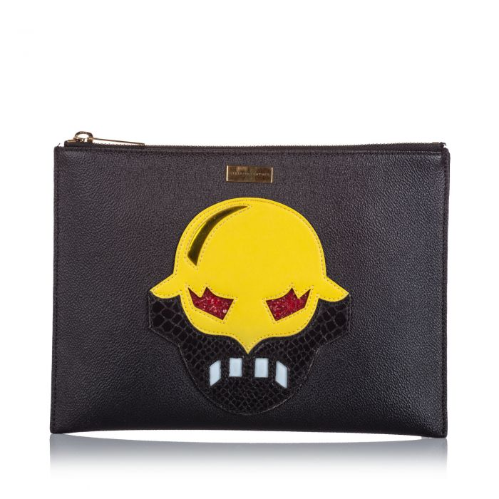 Image for Vintage Stella McCartney Superstellaheros Clutch Black