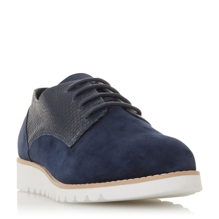 Image for Dune Ladies FLINCH Mixed Upper Lace Up Shoe