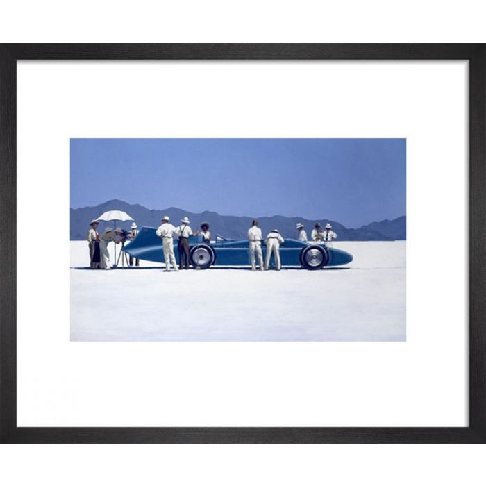 Image for Bluebird At Bonneville by Jack Vettriano