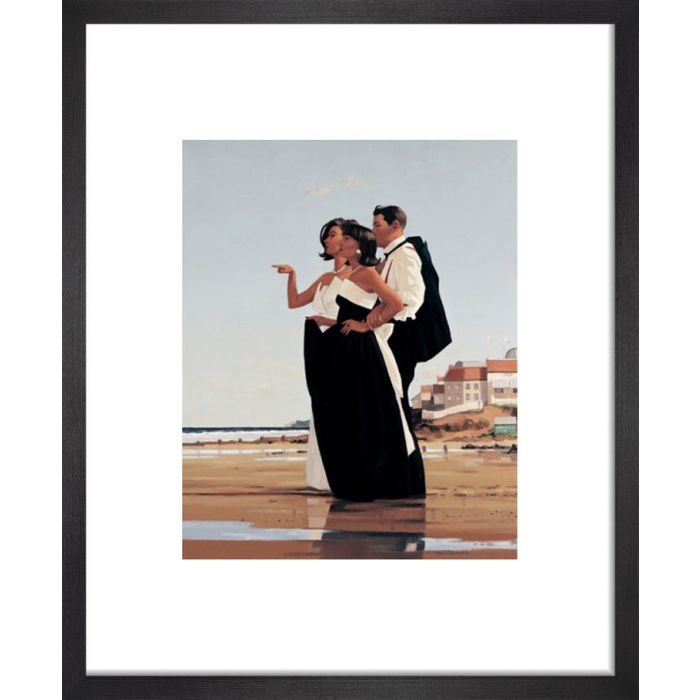 Image for The Missing Man II by Jack Vettriano