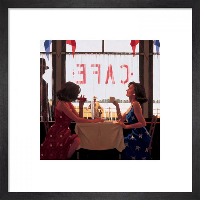 Image for Cafe Days by Jack Vettriano
