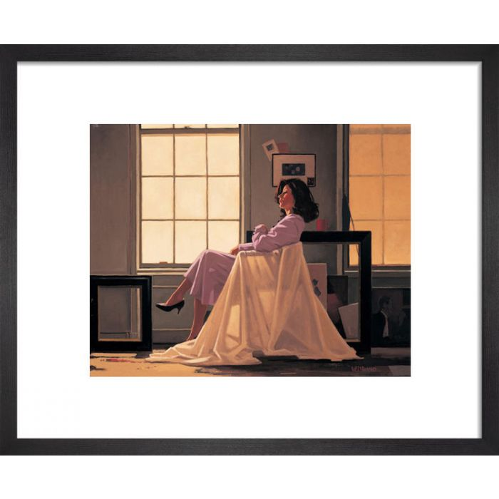 Image for Winter Light and Lavender by Jack Vettriano