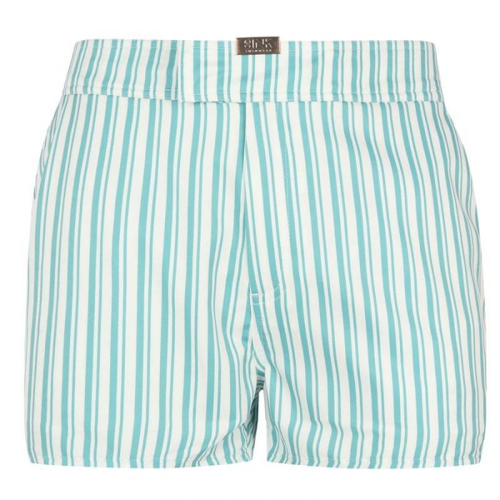 Image for Tailored Maiden Cay Blue Swim Shorts