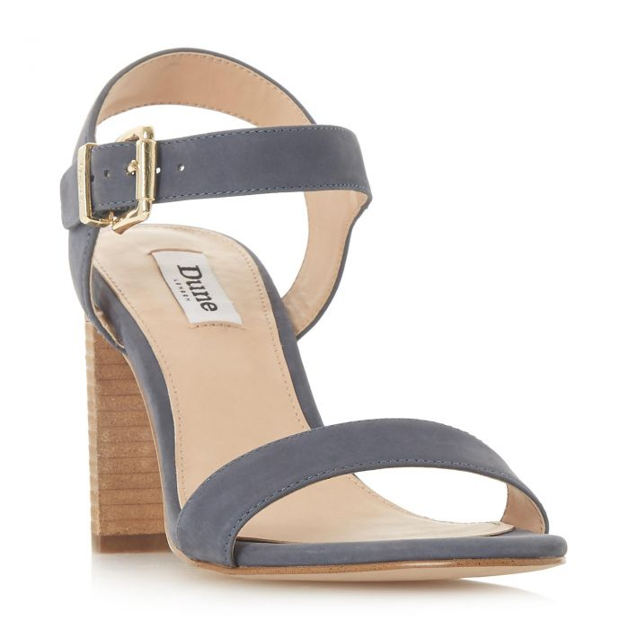 Image for Dune Ladies ISOBEL Two Part Stacked Heel Sandal