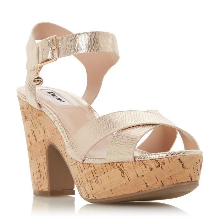 Image for Dune Ladies IYLENE Block Heel Two Part Sandal
