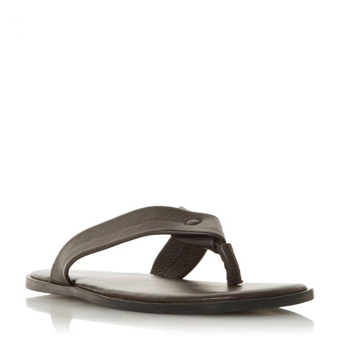 Image for Dune Mens IZUMI Leather Flip Flop