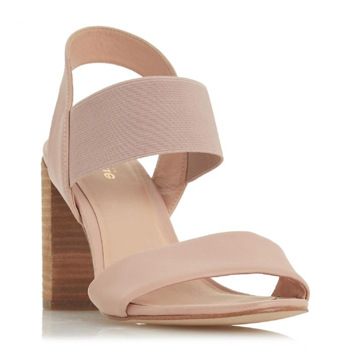 Image for Dune Ladies JUMPER Double Strap High Block Heel Sandal