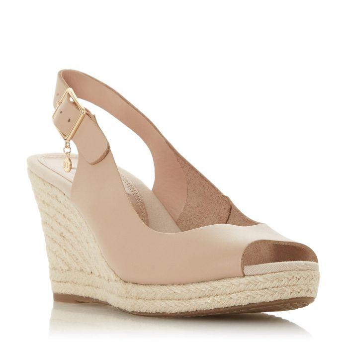 Image for Dune Ladies KICKS Espadrille Wedge Heel Sandal
