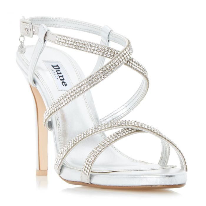 Image for Dune Ladies MANSIONN Strappy Jewelled High Heel Sandal