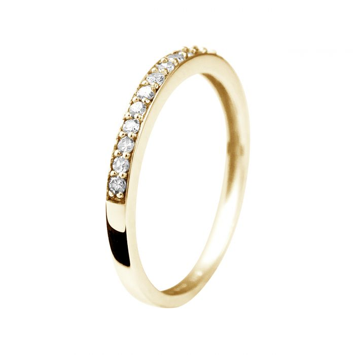 Image for Yellow gold diamond ring