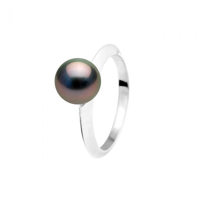 Image for DIADEMA - Ring - Tahitian Pearl - White Gold