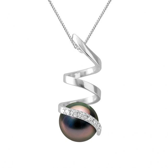 Image for DIADEMA - Pendant - White Gold and Tahitian Pearl