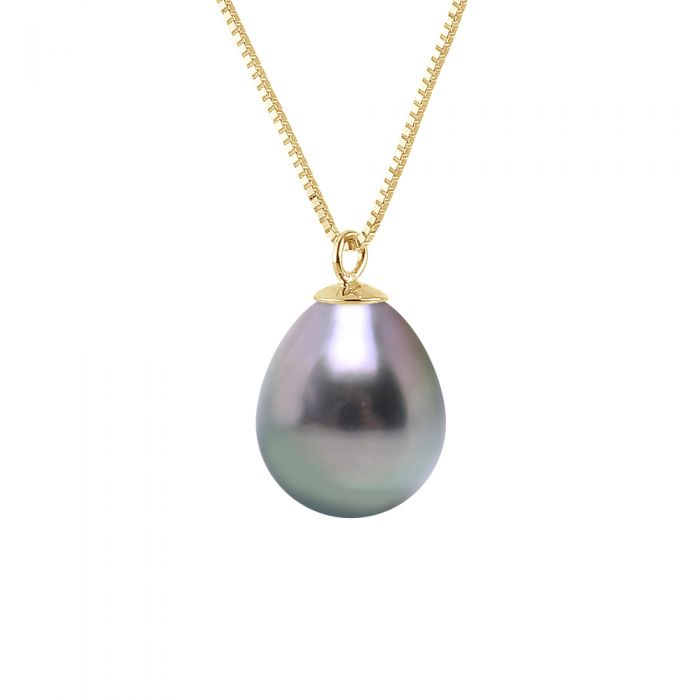 Image for DIADEMA - Necklace - Tahitian Pearl - in Yellow Gold