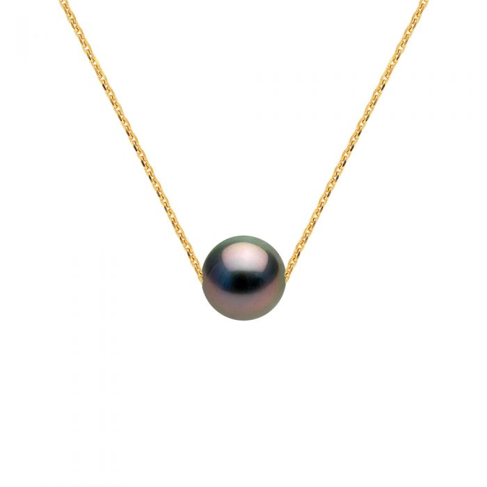 Image for DIADEMA - Necklace - Tahitian Pearl - Yellow Gold