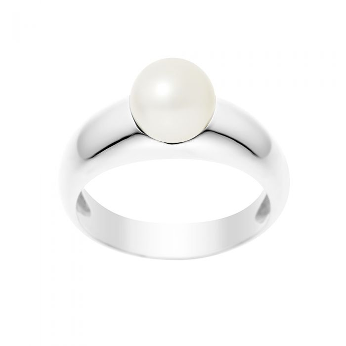Image for White freshwater pearl ring