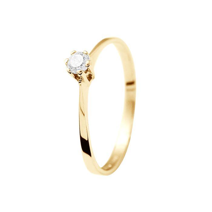 Image for DIADEMA - Ring - Diamond - Yellow Gold