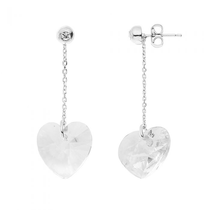 Image for Forever Swarovski crystals earrings