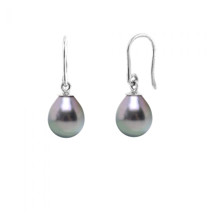Image for DIADEMA - Earrings - Silver and Real Tahitian Pearls