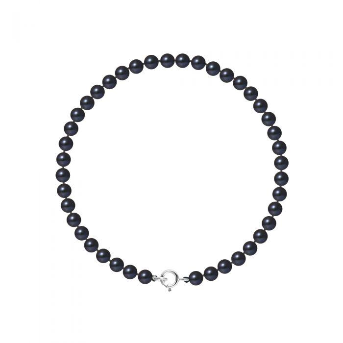 Image for White gold freshwater pearl bracelet