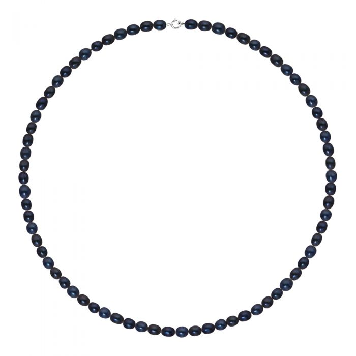 Image for White gold freshwater pearl necklace