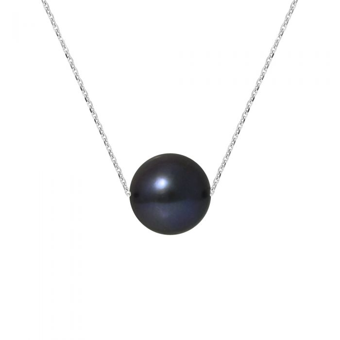 Image for White gold pearl necklace
