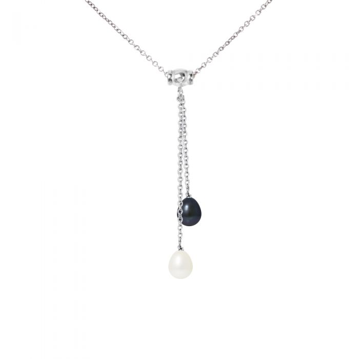 Image for Freshwater pearl necklace duo