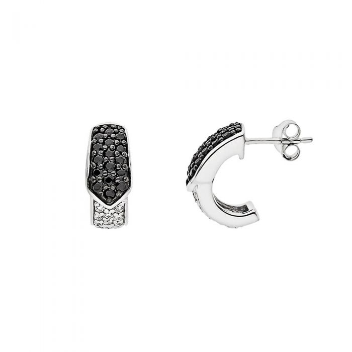 Image for Black and white earrings
