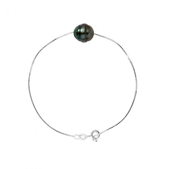 Image for DIADEMA - Bracelet - Love Bond - Silver - Tahitian Pearl